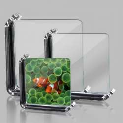 cadre avec support acryiliqe (cadre 17,5 x17,5 cm)